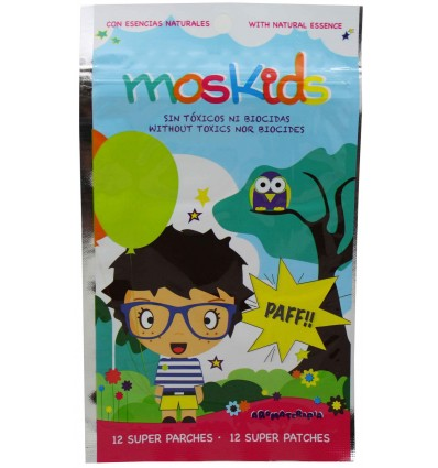 Moskids Parches antimosquitos 12 unidades