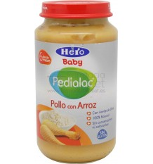 Pedialac Hero Potito Pollo Arroz 250g