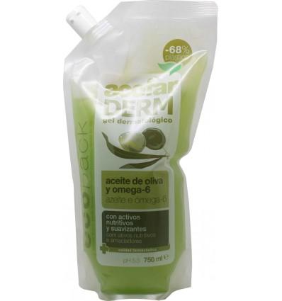 Acofarderm Gel de Baño Aceite de Oliva Ecopack 750 ml