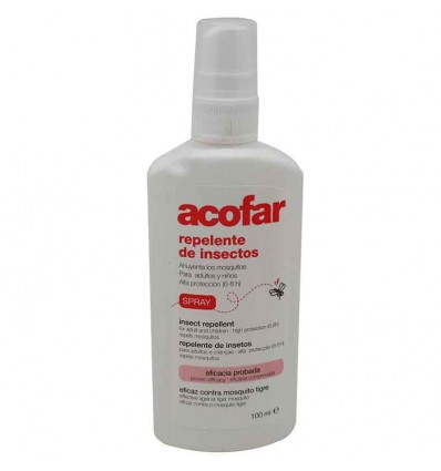 Acofar Repelente Mosquito Spray 100 ml