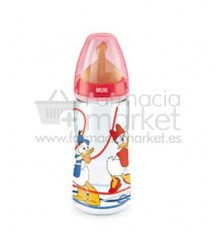 Nuk Biberon Latex Pato Donald 2L Rojo 300ml