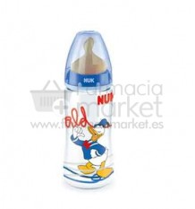Nuk Biberon Latex Pato Donald 2L Azul 300ml
