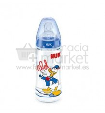 Nuk Biberon Silicona Pato Donald 2L Azul 300ml