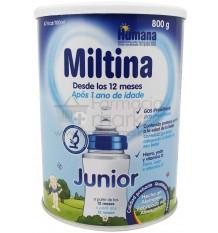 Miltina Junior crecimiento