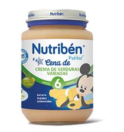 Nutriben Potito Cena Crema de Verduras Variadas 200g