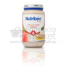 Nutriben potitos pollo con arroz