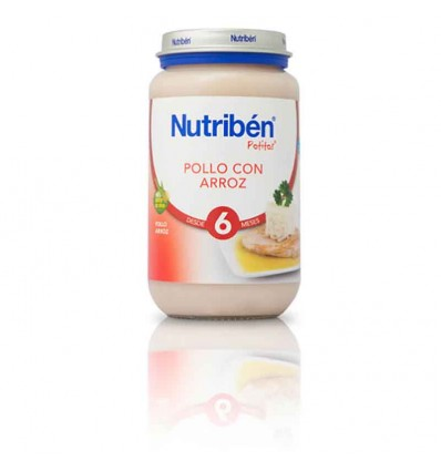 Nutriben Potito Pollo con Arroz 250 g