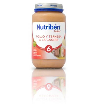 Nutriben Potito Pollo Ternera a la Casera 250g
