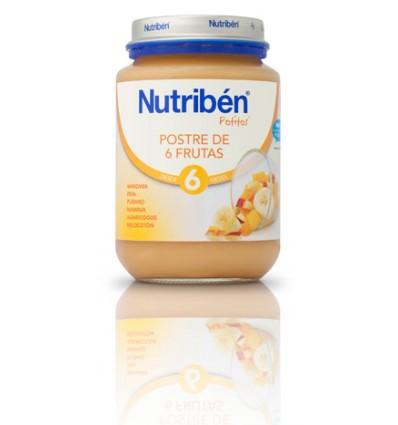 Nutriben Potito Postre 6 frutas 200 g