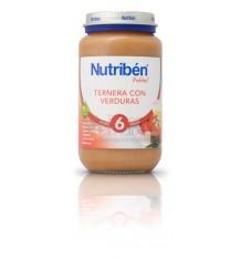 Nutriben Potito Ternera con Verduras 250 g