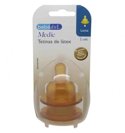 Bebedue Tetina Latex Flujo Lento