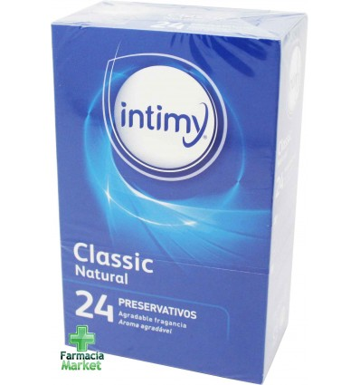 Intimy Preservativos Classic Natural 24 unidades