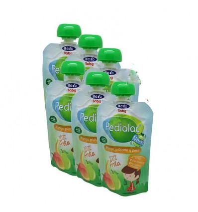 Pedialac Ñam Mango Platano Pera Pack 6 unidades