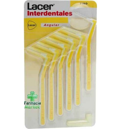 Lacer Cepillos Interdentales Angular Fino 6 unidades