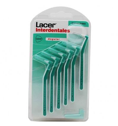 Lacer Cepillos Interdentales Angular ExtraFino 6 unidades