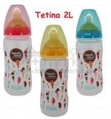 Nuk Biberon Latex Cupcakes 2L 300 ml