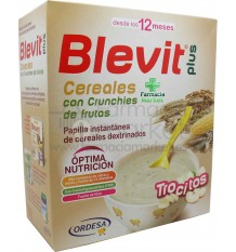 Blevit Plus Cereales Trocitos Crunchies de Fruta 600 g