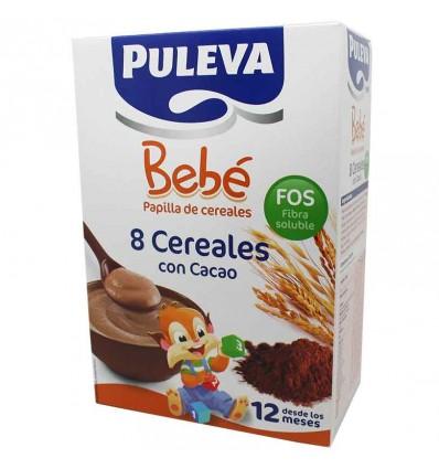 puleva bebe 8 cereales cacao