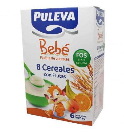 Puleva bebe 8 cereales con frutas