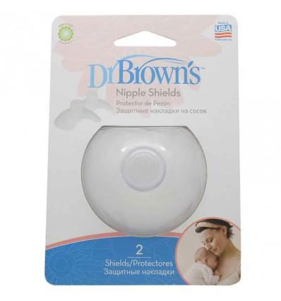 Dr Browns Pezonera Silicona 2 unidades