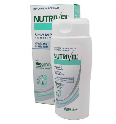 Nutrivel Biogenina and Triactive Champu fortificante 200 ml