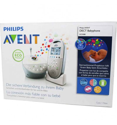 Avent philips dect babyphone 580