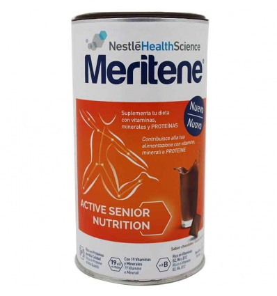 ingredientes meritene chocolate bote