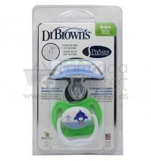 Dr Browns Chupete Ortodontico Prevent 0-6 meses 2 unidades