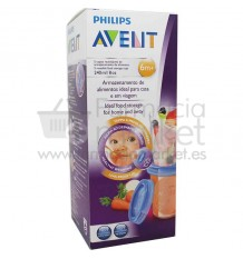 Avent Via Recipientes Alimentos 240 ml 5 unidades SCF639/05