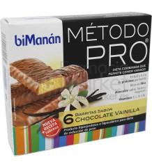 Bimanan Pro Barritas Chocolate Vainilla
