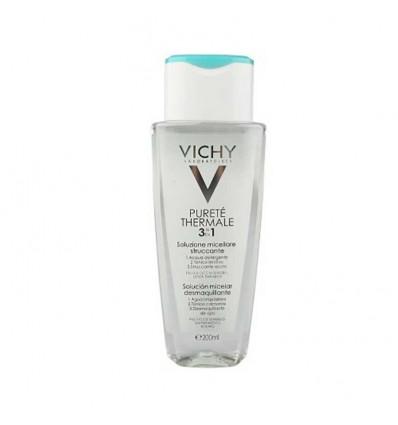 Vichy Purete Thermal Solución micelar 3 en 1 200 ml