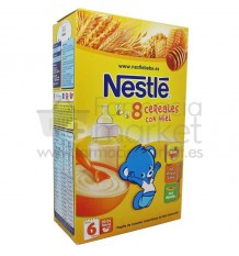 Nestle Cereales Papilla 8 Cereales Miel 600 g