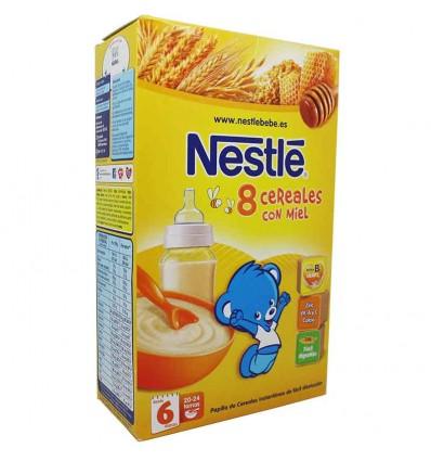 nestle 8 cereales miel 600 gramos