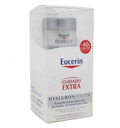 Eucerin Hyaluron filler Crema dia 50 ml pack Ahorro