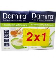 Damira Papilla 8 cereales galleta 600 g Duplo Promocion