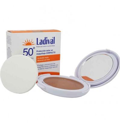 Ladival Compacto Maquillaje 50 Dorado 10g