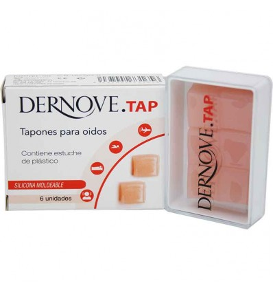Dernove Tap Tapones Silicona Moldeable 6 Unidades