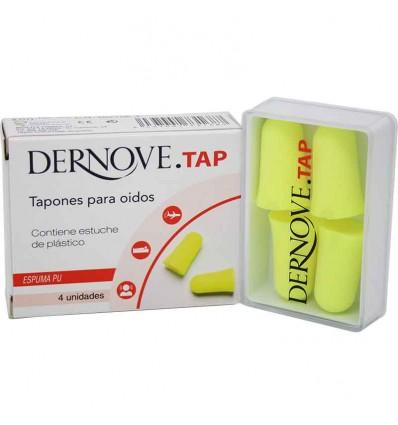 Dernove Tap Tapones Espuma Anatomicos 4 Unidades