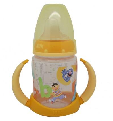 Nuk Biberon Entrena Barrio Sesamo 150 ml amarillo