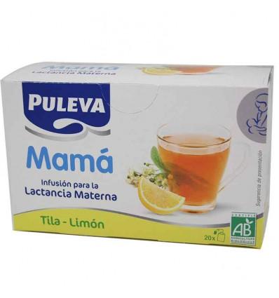 Puleva Mama Infusion Lactancia Materna Tila Limon