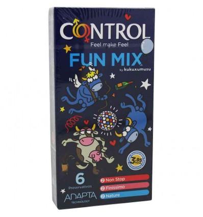 Preservativos Control Fun Mix 6 unidades