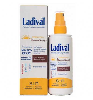 Ladival Proteccion y Bronceado Spray 50 150 ml