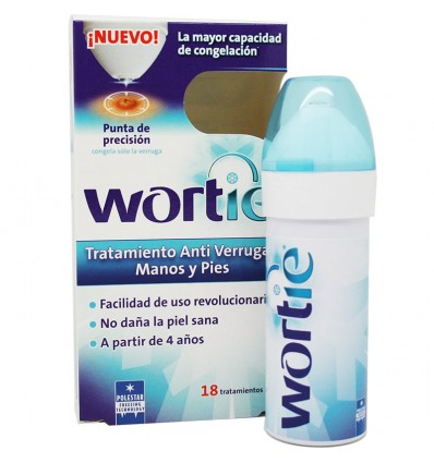 oferta Wortie Tratamiento Antiverrugas Manos y Pies