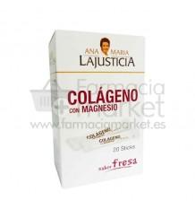 Ana Maria Lajusticia Colageno con Magnesio Sticks Fresa