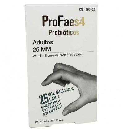 Profaes4 Probioticos Adultos 25 mm 30 capsulas