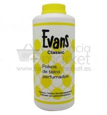 Evans Classic Polvos de Talco 300 gramos