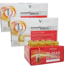 Dercos Vichy Aminexil Pro Mujer Duplo Regalo