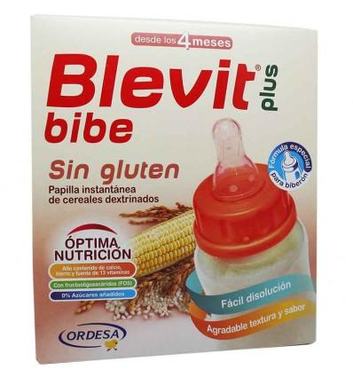 Blevit Bibe Plus Cereales Sin Gluten para Biberon 600 g