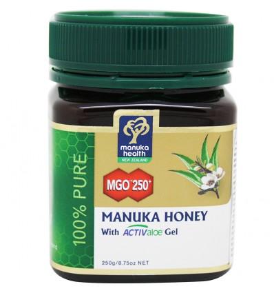 Manuka Honey Miel Mgo 250 Acti Aloe Vera 250 gramos