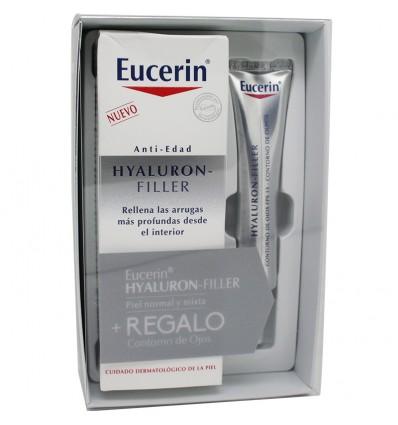 Eucerin Hyaluron filler Crema Dia fluido 50 ml Contorno Gratis